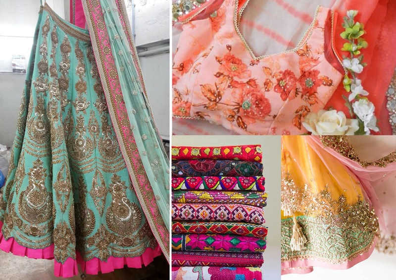 01a13218c2 Making a Lehenga out of a Saree: DIY Methods - Blog