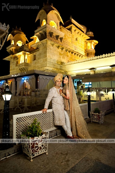 Royal wedding held at Jagmandir, Udaipur