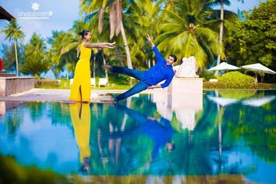 Fun pre wedding photo shoot ideas