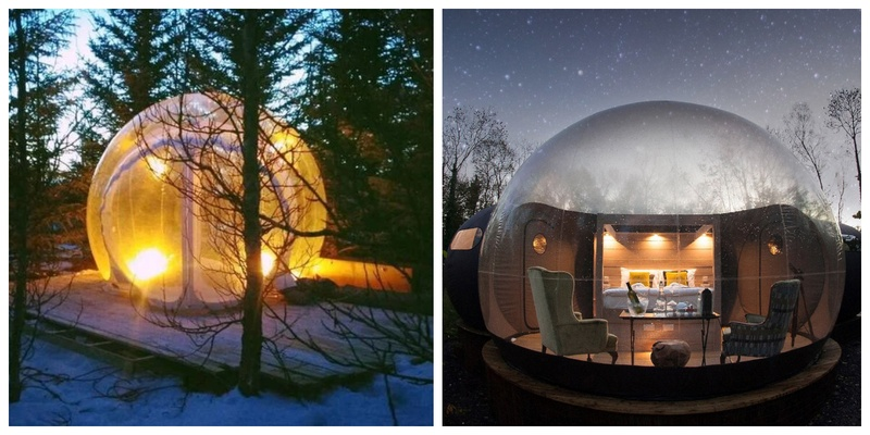 6 Places in the world where you can sleep in a Bubble on your Honeymoon!