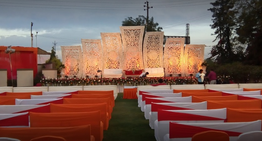 Tilak Party Plot Ognaj Ahmedabad - Wedding Lawn
