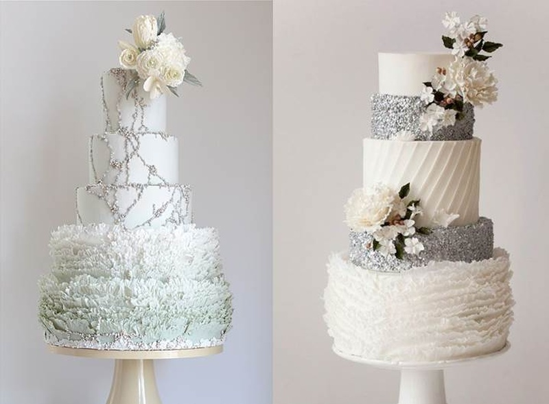 Whimsical Winter Wedding Cake Ideas You Will Fall In Love With.  #WinterWeddingSeries