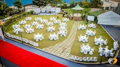 Mca club setup for wedding
