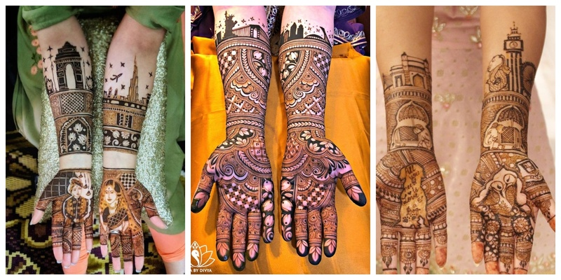 15 Modern and Steal-worthy Bridal Mehndi Designs to take Inspiration from!