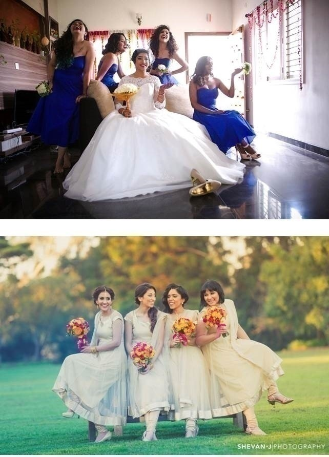 WEDDING PHOTO IDEA: ONE WITH YOUR GIRLS!