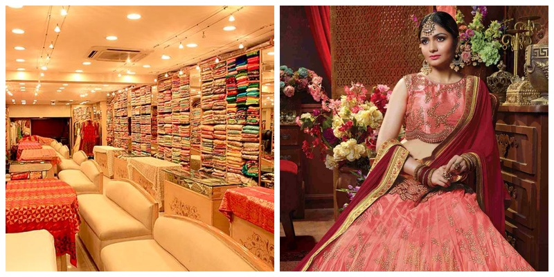 Best lehenga shops in Chickpet Bangalore that every Bangalore bride must check out!