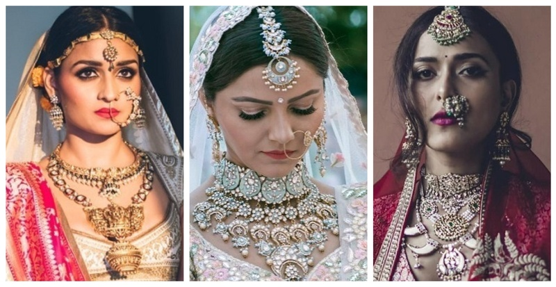 The most trending bridal jewellery combination- Mix n' Match is the way to go!