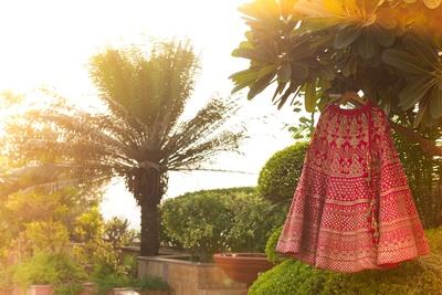 Bridal Lehenga by Asiana Couture, Delhi.