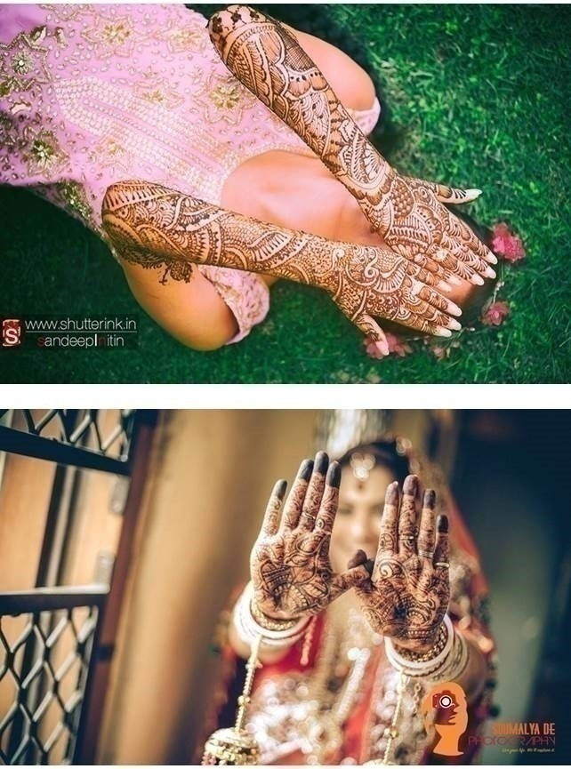 WEDDING PHOTO IDEA: MEHNDI