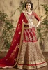 Variation Red  Georgette Bridal Lehenga Choli image