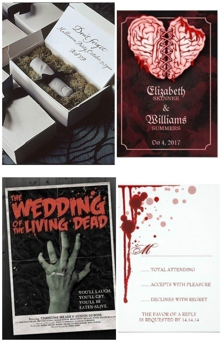 GOTHIC WEDDING INVITES
