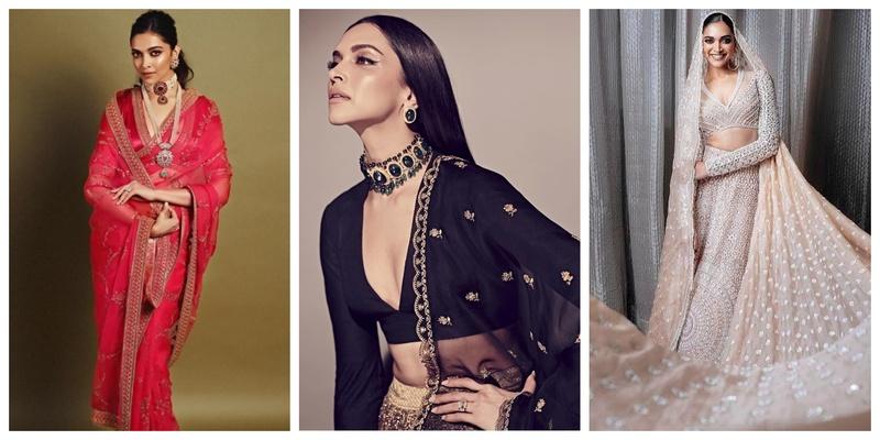 7 Gorgeous Bride-worthy Looks of B-Town Diva Deepika Padukone
