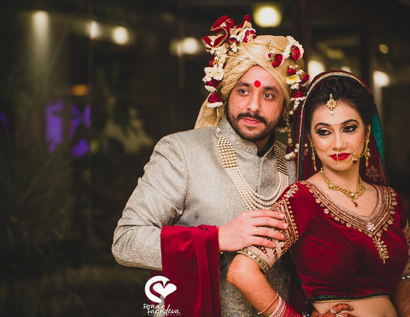 Richa and Hitesh's Beautiful Backyard Delhi Wedding