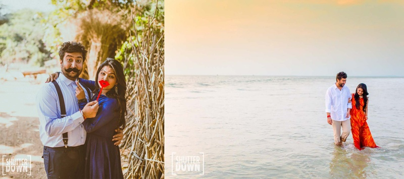 Pallak and Sid's Off-Beat Destination Wedding held at Dona Sylvia Beach Resort, Goa