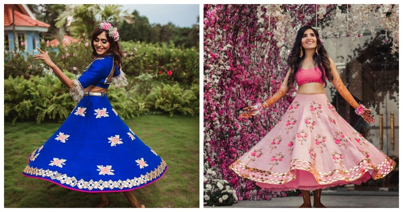 5 Hassle-free and Gorgeous Short Lehengas for your Mehendi Ceremony