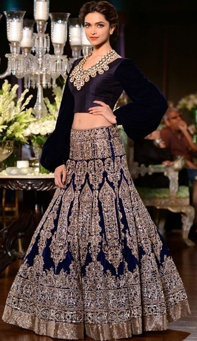 Are Dark Toned Bridal Lehengas the Newest Trend in Wedding Wear?