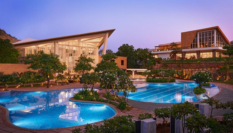 Taj Aravali Resort And Spa Kodiyat Road Udaipur - Banquet Hall