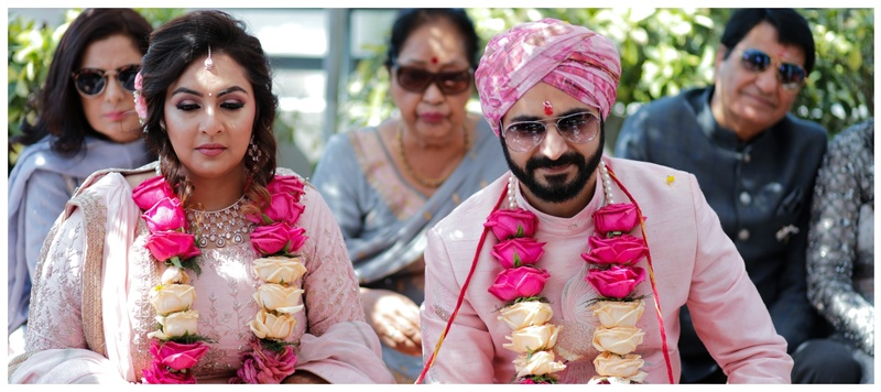 Rachit & Ashima Ludhiana : Ashima and Rachit's ethereal wedding is a proof that love and destiny walk hand in hand!