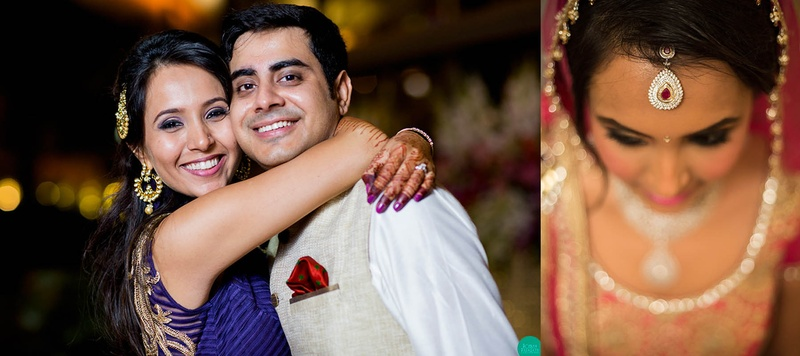 Abhay & Neeti Mumbai : Tasteful Wedding with Jewellery and Outfits that Inspire
