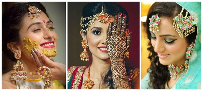 Gota jewellery is the new offbeat choice for Mehndi these days!