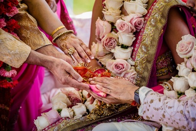 wedding rituals during the wedding ceremony