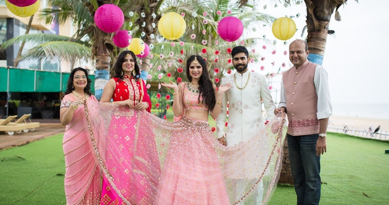 We Gifted This Family The Coolest Wedding Photoshoot - And The Pics Are Setting Major #WeddingGoals!