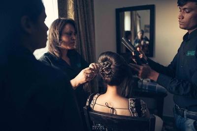 Hair and make up by ace MUA Hema Watson Salon