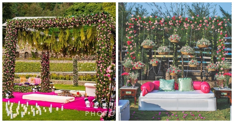 10 Wedding ceremonies which saw the most scintillating nature-themed decor ideas!