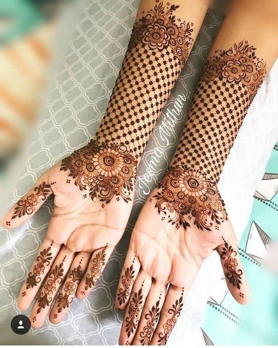 Simple Mehndi Design For Brides Who Like To Keep It Minimal Blog