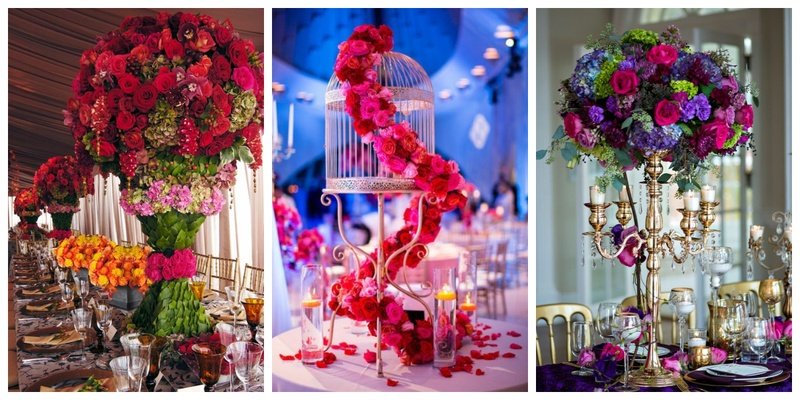 Wedding centerpieces to add that extra oomph to your wedding table decoration!
