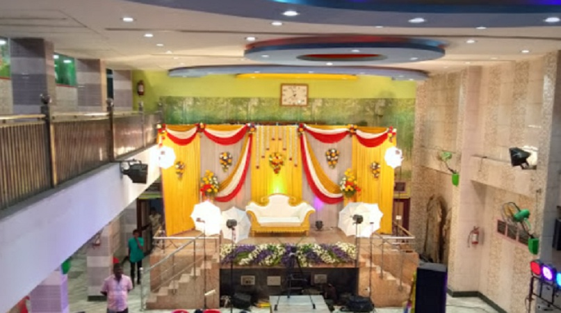 Pudhusurangudi Nadar Marriage Hall Royapuram Chennai - Banquet Hall
