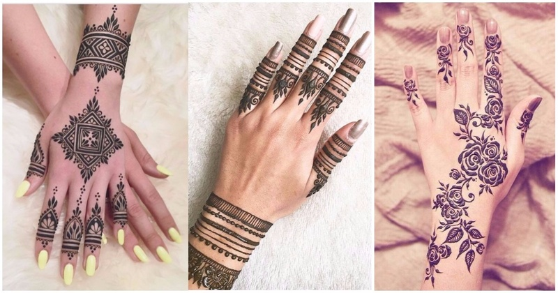 12 Finger Mehndi Designs That Are Oh-So-Pretty For Indian Wedding Functions!