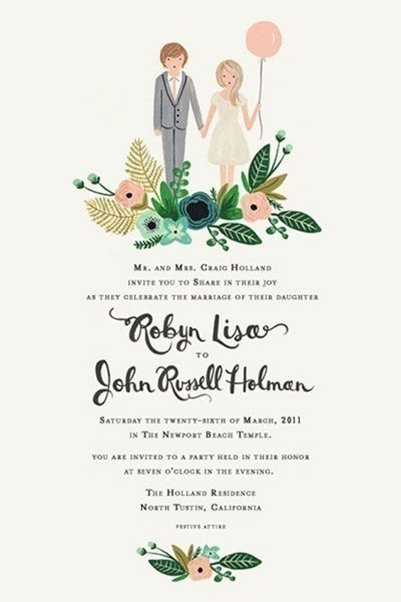 One Page Wedding Invites!