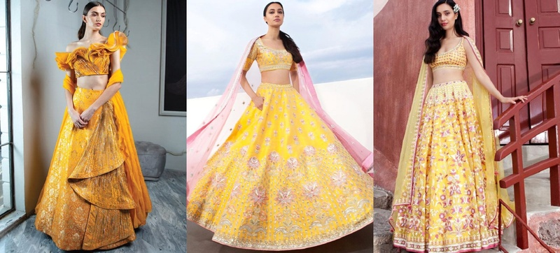 All the Yellow Lehenga Inspiration you Need this Lockdown!