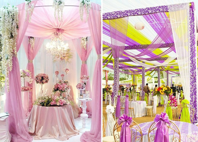 Check Out These Instagram-Worthy Wedding Décor Drapes Ideas Now!