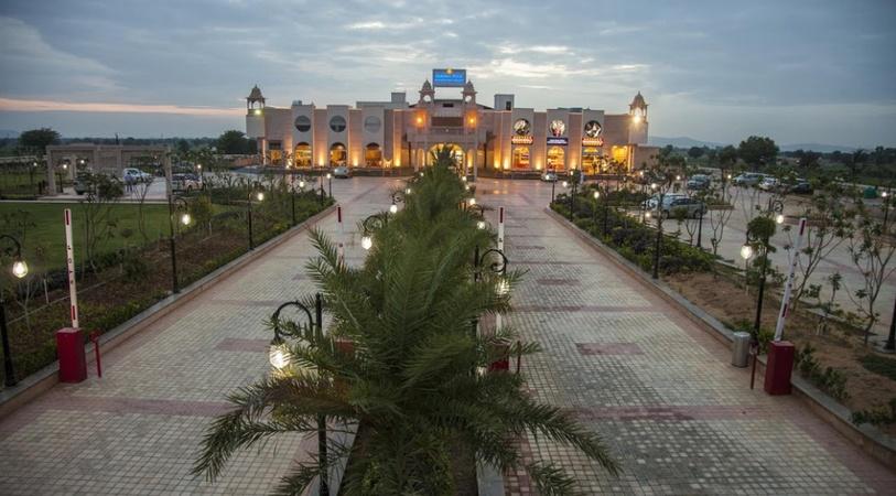 Grand Hira Hotel and Resort Neemrana Jaipur - Banquet Hall