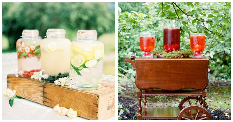 5 Non-Alcoholic Drink Stations to Impress the Wedding Guestlist