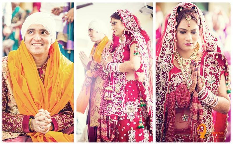 Rajesh & Veena Mumbai : A Beautiful Wedding Ceremony Held at the Gurudwara