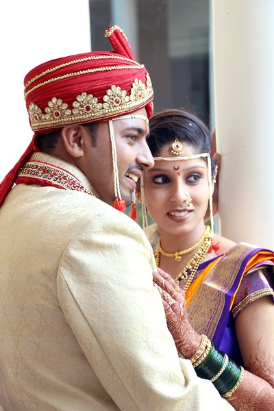 Wedding photography by Ninad Photography