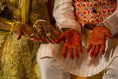 Mehendi design for couple
