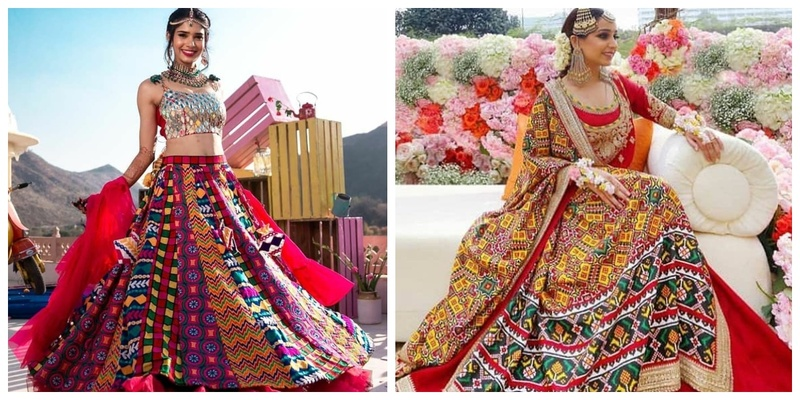 10 Multi-coloured Lehengas that We Can't Take our Eyes Off!