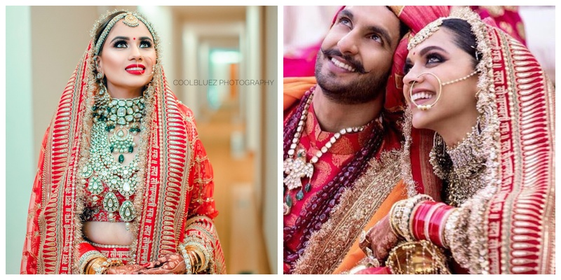 This bride wore the same lehenga as Deepika Padukone and took the internet by storm!