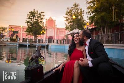 Cute pre wedding photo shoot of Sonal and Jitin