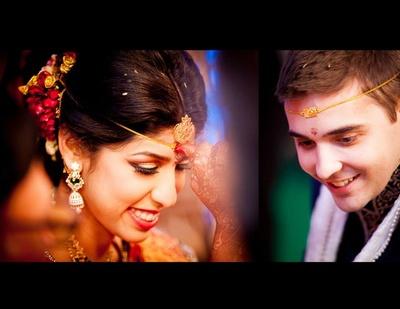Cros-cultural wedding ceremony