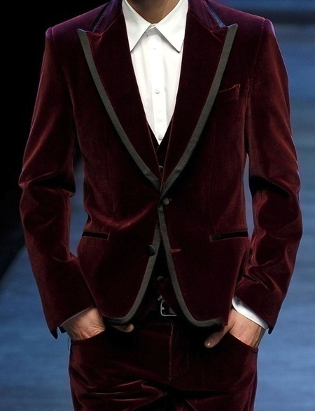 Velvet Suits – A Unique Take on the Classic Three Piece Wedding Suits