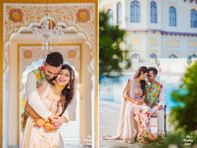 Candid photographs work the best in pre wedding shoots