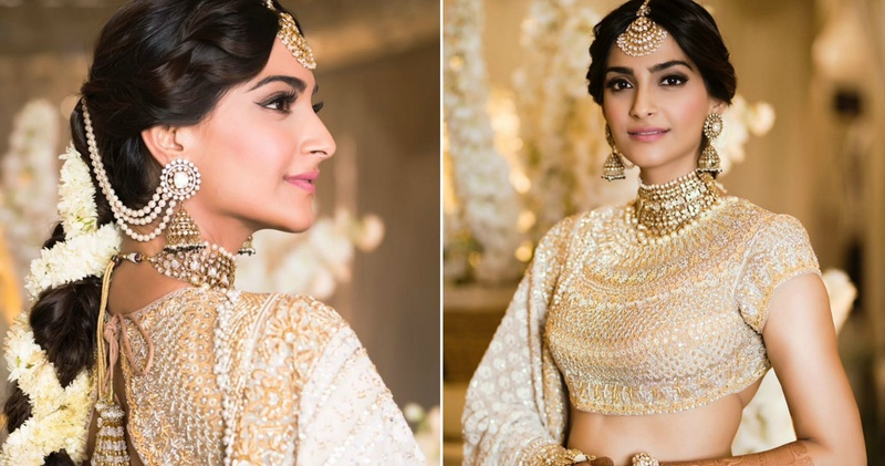 Sonam Kapoor's official mehndi function saw the best of ivory & gold - who wore what & how! #Sonamkishaadi