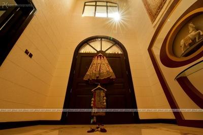 Bride essentails- Lehenga, Dupatta, Kaliras and bridal footwear