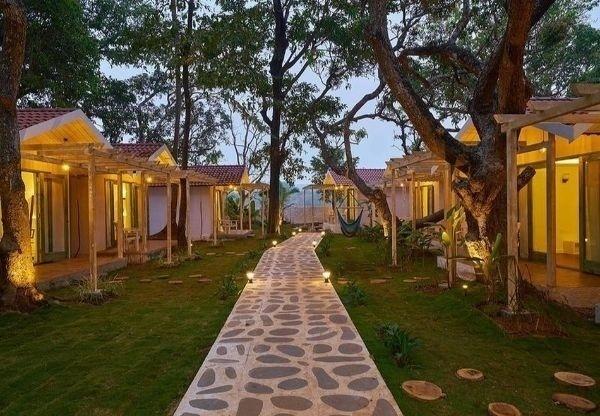 Safira River Front Resort, Morjim, Goa