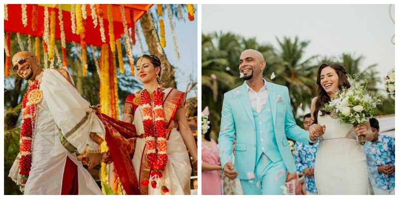 Raghu Ram tied the knot with Natalie Di Luccio in a dreamy wedding ceremony and you've got to check out the pics!